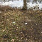 Müll am Angelplatz